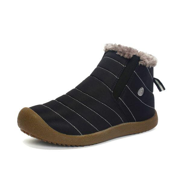 Waterproof Couple Unisex Snow Boots Men Winter Shoes Fashion Casual Boots Warm Fur Inside Antiskid Bottom Pus Size 48