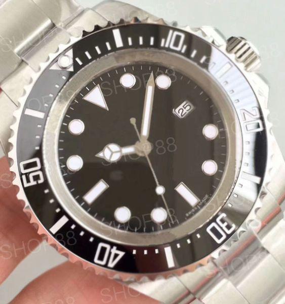 Высокое качество керамическая рамка Мужская механическая из нержавеющей стали Автоматические часы 2813 Механические часы Спортивные часы с автоподзаводом Светящиеся наручные часы