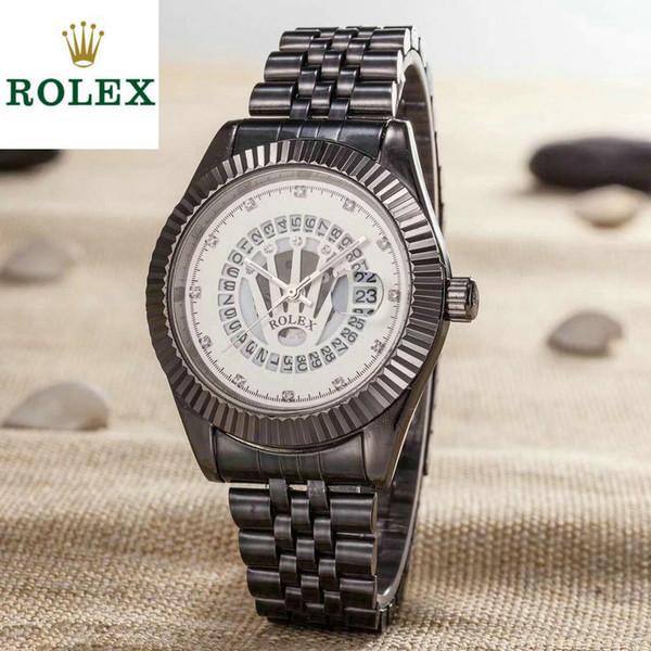 Per il regalo AAA Luxury mens orologi avanzato personalizzato originale importato movimento al quarzo mens designer orologio di marca in acciaio inossidabile orologio da polso