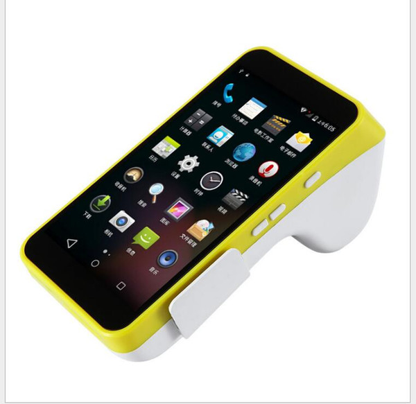 Touch screen POS restaurant cash register printer wireless order takeaway with small ticket printer