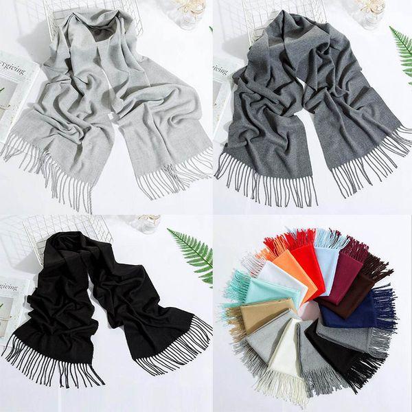 Fashion Women/'s Long Solid Color Shawl Scarf Wrap Lady Elegant Soft Warm Scarves