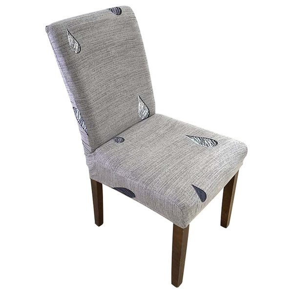 Fodera per sedia staccabile Ristorante stampato in stile europeo Elasticità universale Coprisedile Ristorante per famiglie Decorazione per sedie per hotel