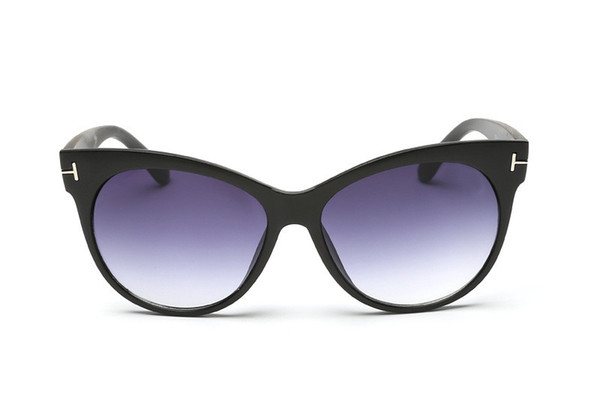 Luxury Top Qualtiy New Fashion 0430 Tom Sunglasses For Man Woman Erika Eyewear Ford Designer Brand Sun Glasses With Original Box tom