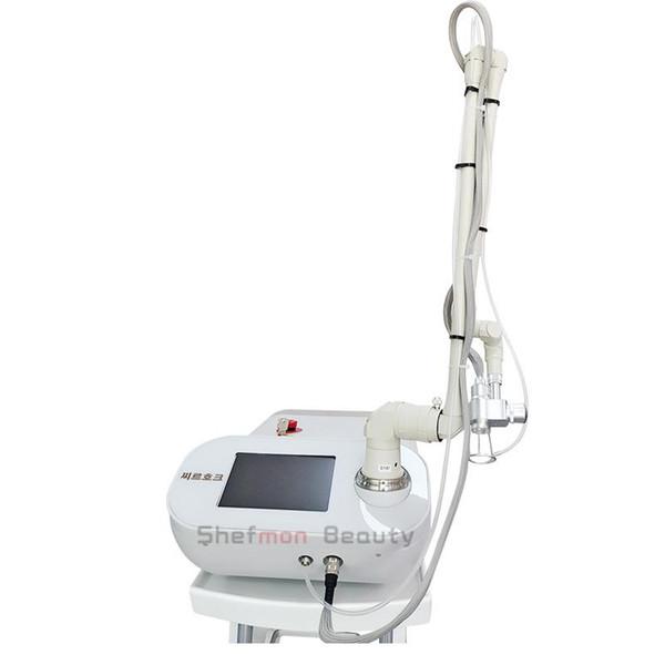 Nouvelle suppression de rides de machine de laser de CO2 partiel Enlèvement de taches de rousseur de cicatrice resserrement de la peau traitement de l'acné Laser beauté équipement clinique utilisation
