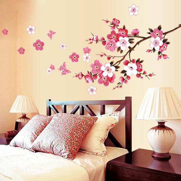 Enorme Rosa Bush Salón Dormitorio Pared Pegatina Vinilo