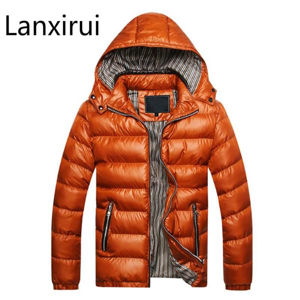 Winter Jacket Men Coat Slim Sportswear Outwear Chaquetas Hombre Parka Mens Coats Jackets Warm Thick Asian Size M-5XL X301