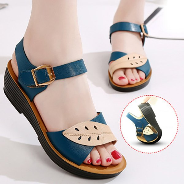 33f671881de Women Sandals Comfort Mother Shoes Summer Women Shoes Slip-on Flat Sandals  Ladies Shoes Woman
