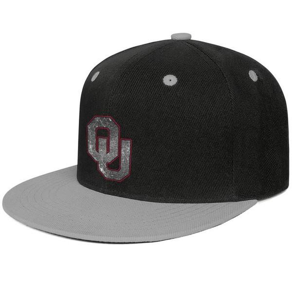 Tasarımcı Bayan Erkek Trucker şapka Oklahoma Sooners futbol eski Baskı logosu düz fatura Hip Hop Snapbacks kap özel balıkçılık şapka