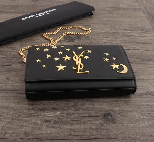 Handtaschen Kette Umhängetasche Mini Flip Cover Elegante Umhängetasche 2019 Berühmte Marke Frauen Handtaschen Geldbörse Mletter New Style M-v10