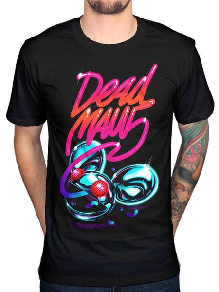 Official Deadmau5 Neon Logo T-Shirt Kat Von D House Music Dance Trance Funny free shipping Unisex Casual Tshirt top
