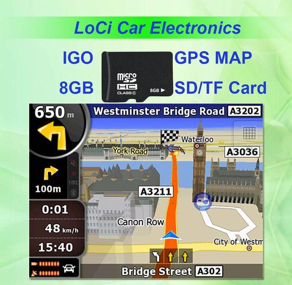 IGO GPS harita kartı