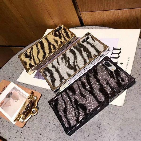 Zebra desen cep telefonu kılıfı için iphone Xs max X Xr 7 7 artı 8 8 artı 6 6 artı TPU silikon yumuşak kapak