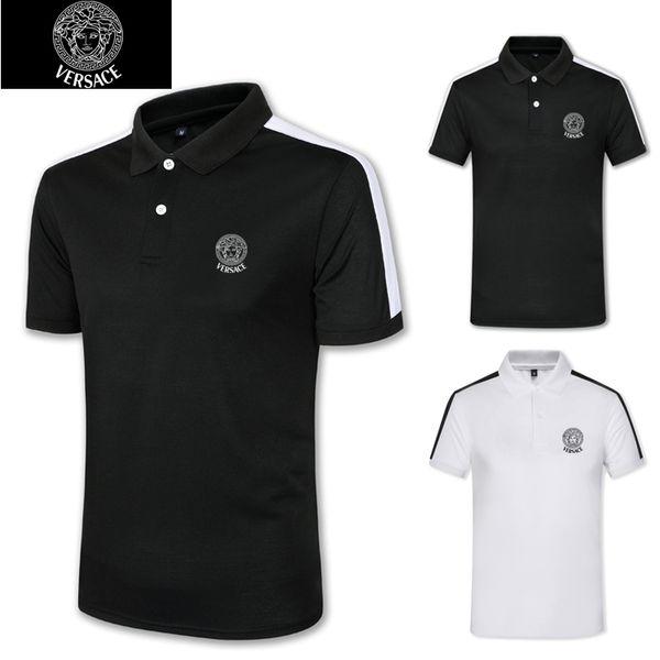Мужская одежда Летняя Базовая футболка с V-образным вырезом Sada Cotton Casual с короткими рукавами Белый Черный Серый Стильный Casual: Спортзал Tops Tee Run Малый M120