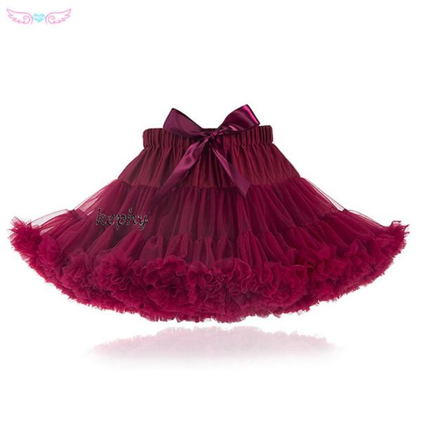 Taille normale Moelleux Bébé Adolescent Fille Adualt Femmes Pettiskirt Tutu Femmes Tutu Party Dance Jupe Pour Adultes Performance Cloth Tulleskirt J190620