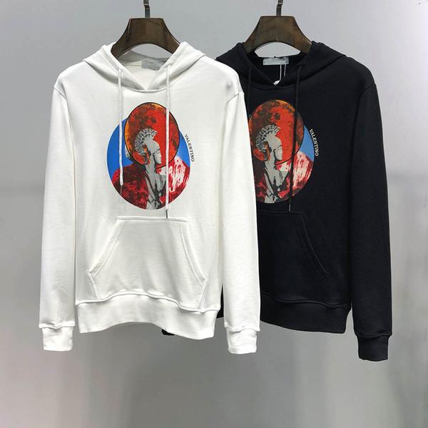 2019 dos homens brandnew Moda Womens Bordado Jackets mangas compridas Sports outono Mens Clothing Tamanho Grande Hoodie Estilo Hot Vender 2020