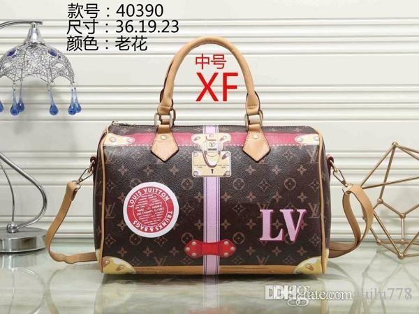 2018 styles Handbag Famous Designer Brand Name Fashion Leather Handbags Women Tote Shoulder Bags Lady Leather Handbags Bags purse40390