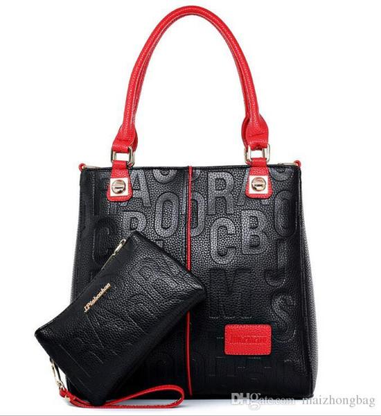 2019 Mode für Frauen Ledertasche europäischen Designer Micaels Handtaschen Damen Schultertasche Classic Messenger Bags Tote Handtasche Geldbeutel