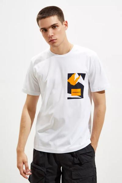 Vente en gros Marque Hommes Femmes Designer T-Shirts Alpes Montagne Imprimer Pull à manches courtes Mode Blouses Casual Casual Oneck T-shirts Top B101008L
