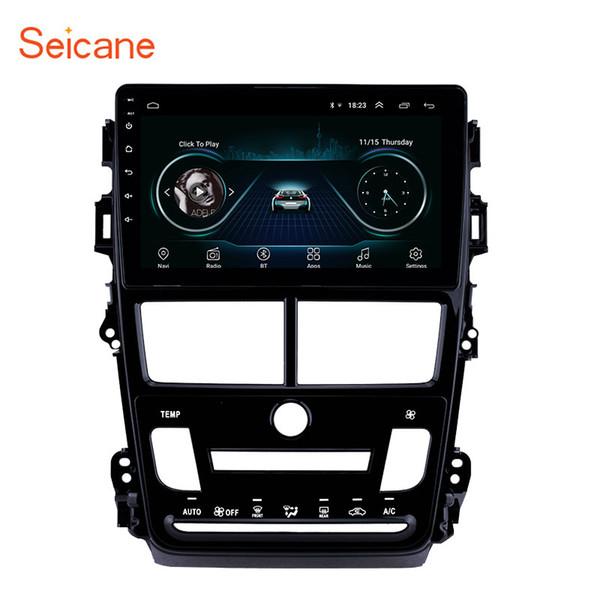 Cheap 9 pulgadas Android 8.1 Pantalla táctil de cuatro núcleos Radio de coche Navegación GPS para 2018 Toyota Vios con WIFI Soporte Bluetooth DVR 3G Cámara trasera