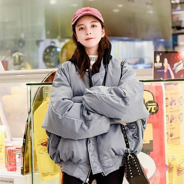 Donna Solid spessa caldi parka scarsità casuali tuta sportiva di inverno Beige cordino con tasca di modo libero Parka Mujer #BB