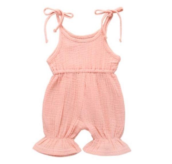 # 1 macacão de bebê de cores sólidas