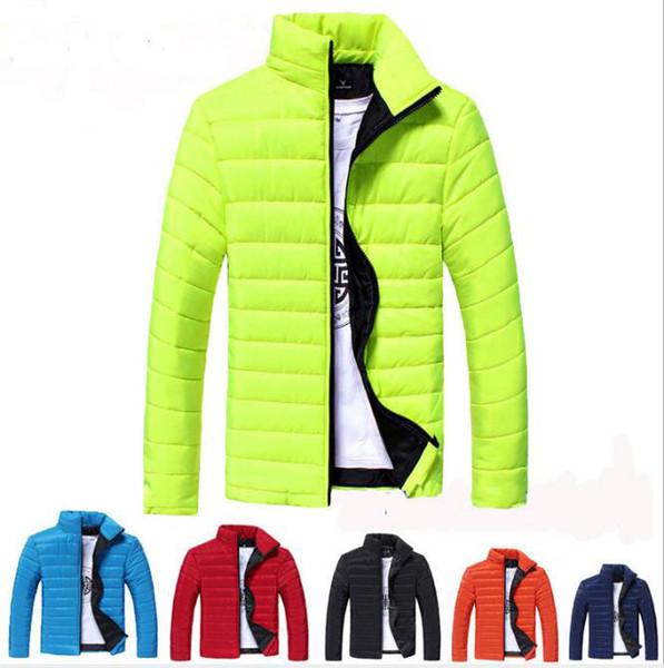 Nouvelle mode luxe coton costume hommes chaud hiver vestes décontractées Marque manteau manteau 2019 mens Designer veste manteaux coupe-vent en plein air