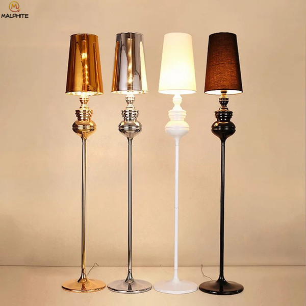2019 Nordic Black Iron Floor Lamp Living Room Bedroom Standing Lamp Modern  LED Stand Light Home Deco Lighting Luminaria Floor Light From Ryanpeng, ...
