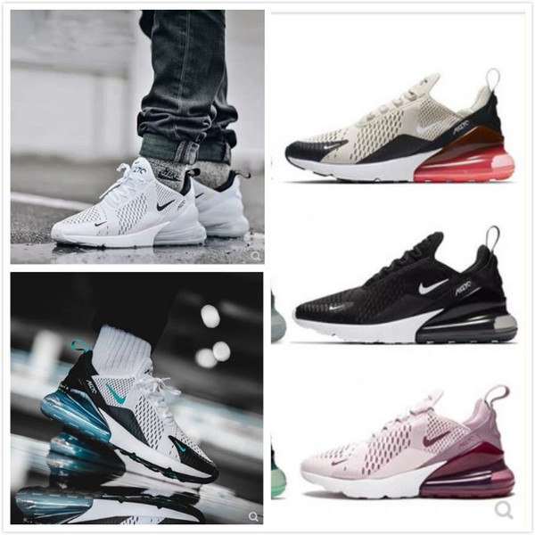 best selling AirMax270 Bruce Triple Black White air Brown Medium Olive Navy Hot Punch 27C Photo Blue max Running Shoes men women sports sneakers