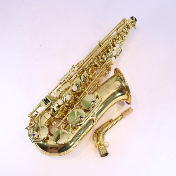 JUPITER JAS700 Alto Saxophone E Flat Brass Gold Lacquer Sax Eb Tune High Quality Musical Instrument with Case Mouthpiece Accessories