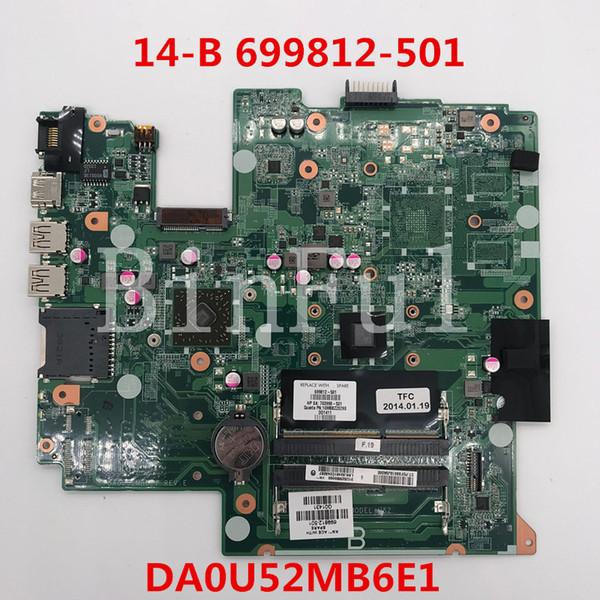 High quality For Pavilion 14 14-B Laptop motherboard 699812-501 703998-501 DA0U52MB6E1 100% full Tested