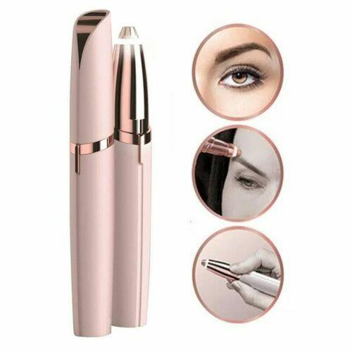 Electric lip tick hair remover eyebrow epilator haver painle portable face care hair removal eye brow trimmer tool with retail box