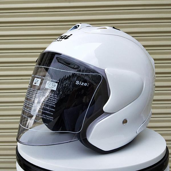 2018 ARAI R4 Top hot 3/4 helmet motorcycle helmet half helmet open facecasque motocross SIZE: S M L XL XXL,Capacete