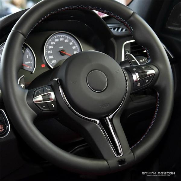 Carbon Fiber Steering Wheel Inner Trim Interior for BMW M2 M3 M4 M5 M6 X5M X6M