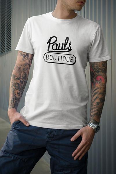 Pauls Boutique Tshirt Beastie Boys marque vente chaude de haute qualité pas cher en gros 2018 Mode Été 100% Coton À Manches Courtes