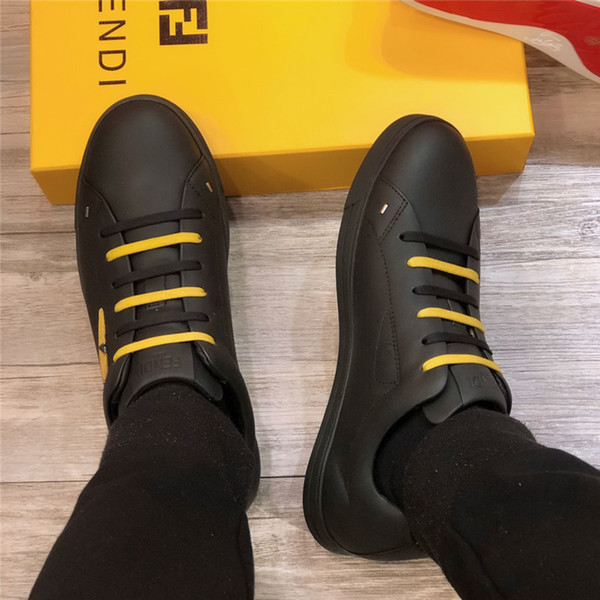2019ss men true leather business shoes luxury designer high quality leisure and business dual purpose size 38-45 men shoess A015