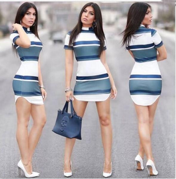 Женщины дизайнер пригородных платья новое прибытие женщин Bodycon платья Лето повседневная короткие женщины короткое платье размер S-XL