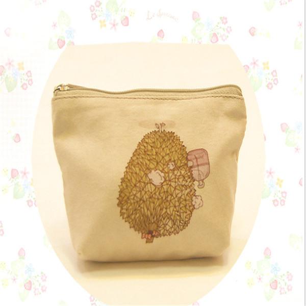 Nouveau Style Version Coréenne de Bande Dessinée Imprimer Zipper Coin Bourse Mignon Mini Portefeuille Enfants Bourse Petite Pièce de monnaie Portemonnee