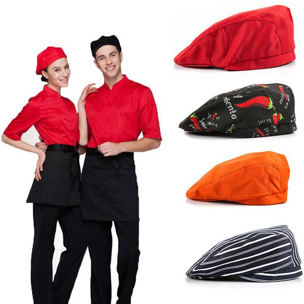 Compre Restaurante Occidental Unisex Chef Cap Azafata Boina A  12.65 ... 6daf22b92e5
