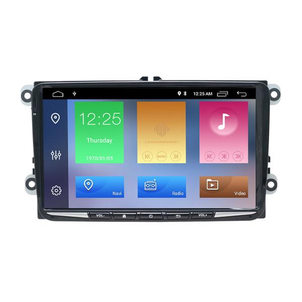 9 pulgadas Android 9.0 DSP Car Audio Player para Seat Leon 2005 -2011 VW Skoda Navegación GPS 2 Din Car DVD Radio Estéreo Player