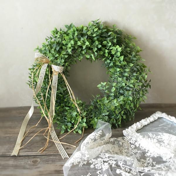 Planta artificial porta lintel flor espelho flor guirlanda de flores casamento fundo adereços