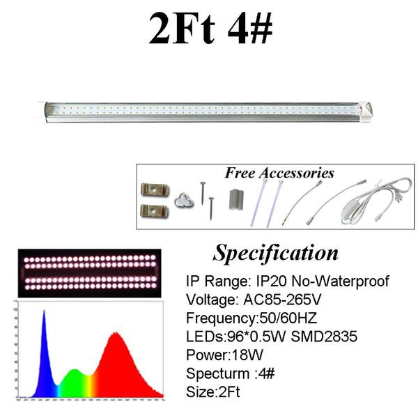 2 피트 4 # 스펙트럼 튜브
