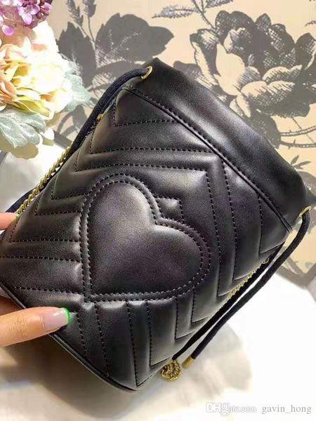 Fashion Lady Designer Frauen Umhängetasche Luxus Eimer Tasche Hochwertige Rindsleder Handtasche Kordelzug