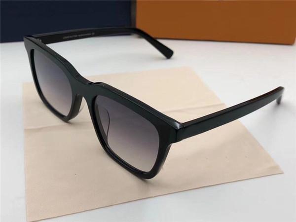Satış klasik kare çerçeve güneş gözlüğü 2326 moda tasarımcısı gözlük basit stil en kaliteli anti-uv 400 lens ile orijinal kutu