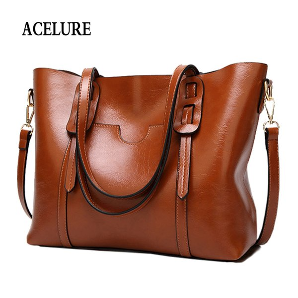 Vintage Women Pu Leather Shoulder Bag Female Large Tote Handbag Business Women Messenger Crossbody Bag For Women Bolsas