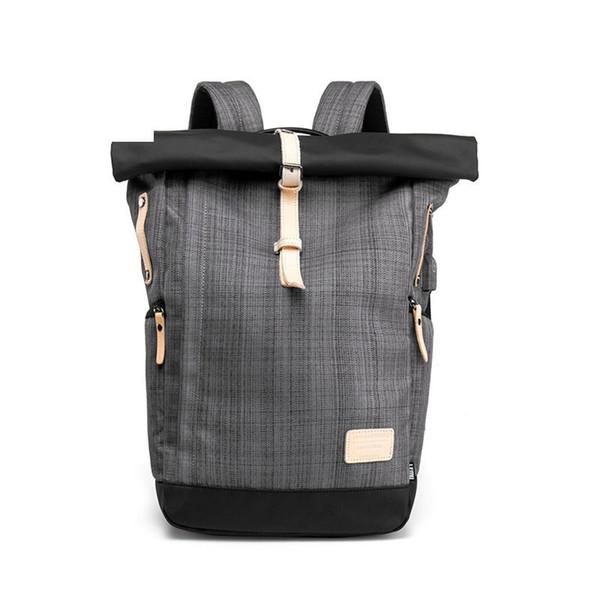 Men Backpack 15.6 Inch Laptop Backpacks Multifunction Oxford Large Travel Bag Male School Student Back Pack Rucksack