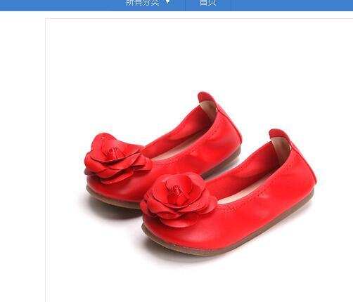 2018 new Korean version of bowknot Princess single shoes, children's egg roll shoes, girls with canvas shoes on one foot