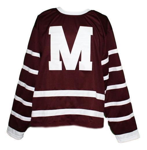 Personalizado Montreal Maroons Retro Jersey Hóquei Personalizado ponto qualquer número qualquer nome Mens Hockey Jersey XS-5XL