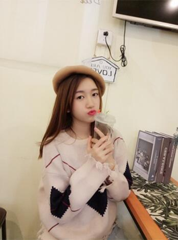 Hat female autumn and winter net red beret Korean version of Japanese wild soft sister painter hat British pumpkin hat tide