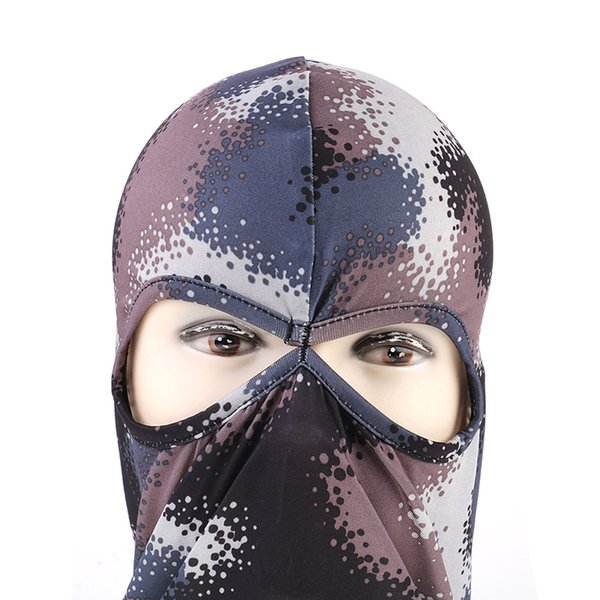 Full Face Masks Windproof Warmer Skull Printed Sport Ski Men Winter Cycling Cap Running Bike Bicycle Neck Hat Head Scarf