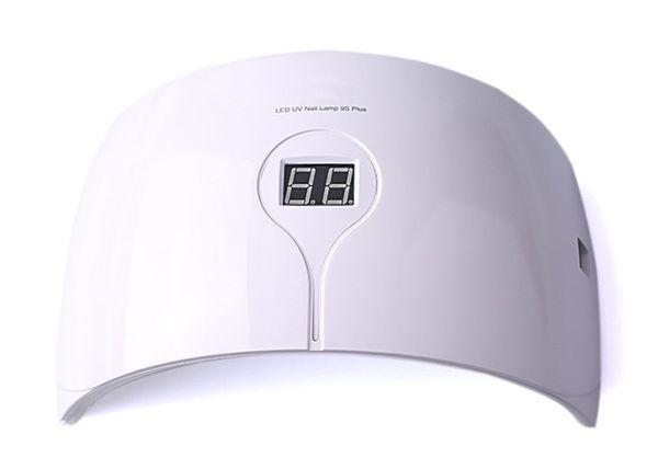 Sıcak! GÜNEŞ 9 Artı 36 W Tırnak Lamba UV LED Lamba Tırnak Kurutucu UV Jel LED Jel Makinesi için Kızılötesi Sensörü Zamanlayıcı Set
